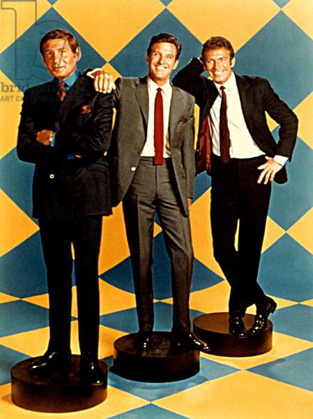 NAME OF THE GAME, 1968-1971, Gene Barry, Robert Stack, Anthony Franciosa