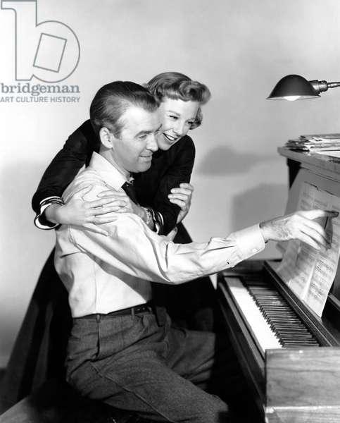 THE GLENN MILLER STORY, James Stewart, June Allyson, 1954