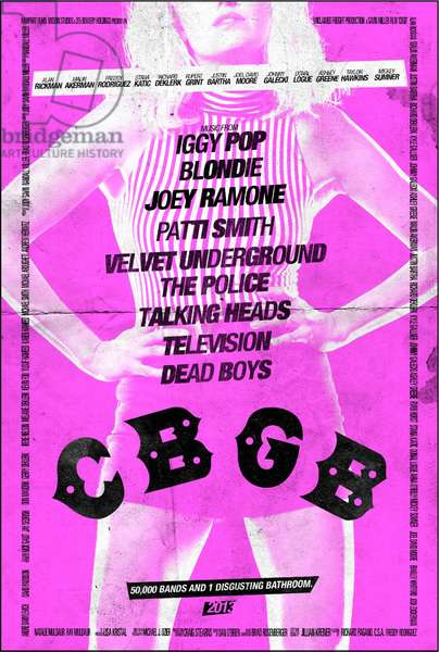 CBGB: CBGB, International poster art, Malin Ackerman, as Debbie Harry, 2013. ©XLrator Media/Courtesy Everett Collection