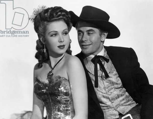 GO WEST YOUNG LADY, Ann Miller, Glenn Ford, 1941