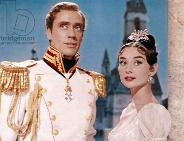 WAR AND PEACE, Mel Ferrer, Audrey Hepburn, 1956.