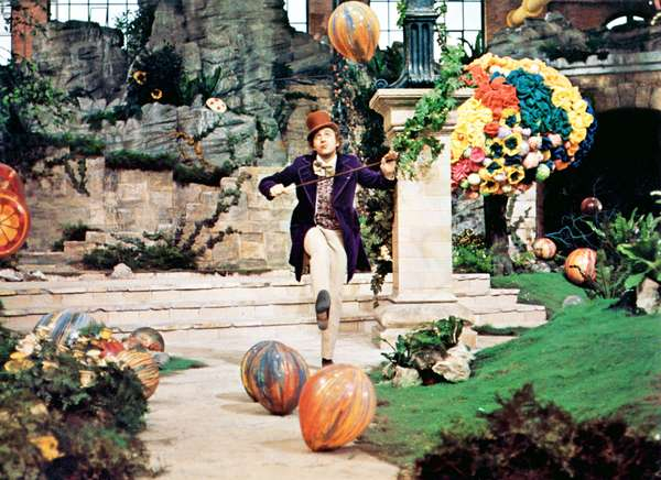 Gene Wilder in Willy Wonka & the Chocolate Factory directed by Mel Stuart, 1971