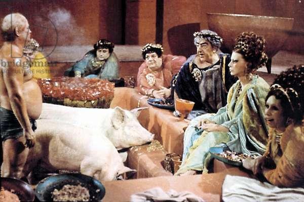 FELLINI SATYRICON, Mario Romagnoli, Magali Noel, 1969