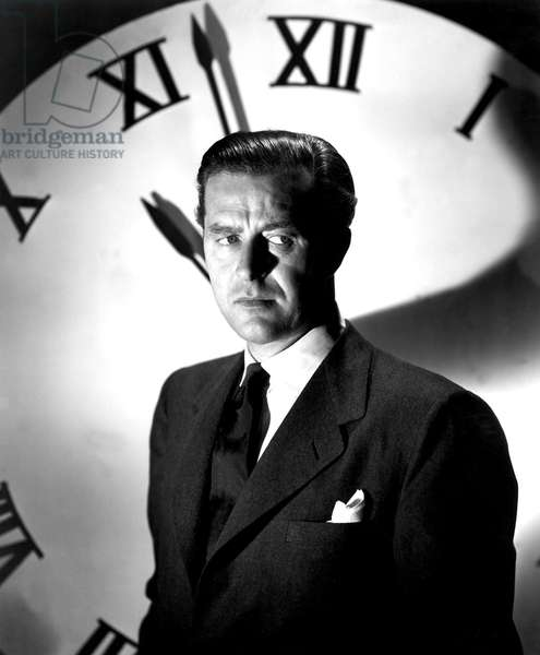 La grande horloge: THE BIG CLOCK, Ray Milland, 1948
