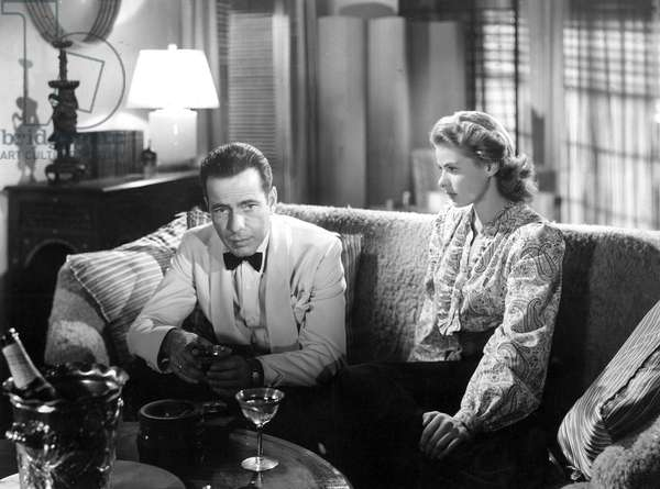 Casablanca: CASABLANCA, Humphrey Bogart, Ingrid Bergman, 1942