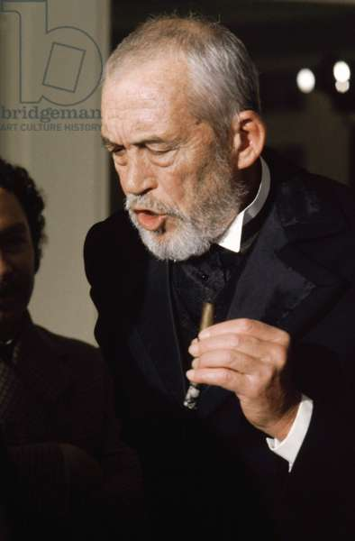 THE WIND AND THE LION, John Huston as John Hay, 1975