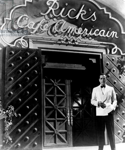 CASABLANCA, Humphrey Bogart, 1942