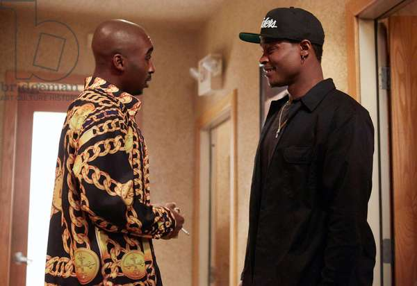 All Eyez on Me de Benny Boom: ALL EYEZ ON ME, from left: Demetrius Shipp Jr. as Tupac Shakur, Harold House Moore as Dr. Dre, 2017. ph: Quantrell Colbert / © Lionsgate /Courtesy Everett Collection