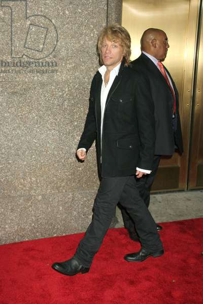 Jon Bon Jovi at arrivals for Fashion Rocks Concert Benefits Elton John AIDS Foundation, Radio City Music Hall at Rockefeller Center, New York, NY, September 07, 2006. Photo by: Rob Rich/Everett Collection