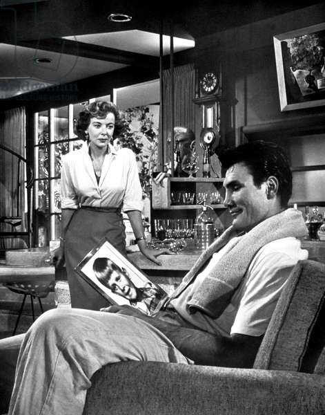 THE BIG KNIFE, Ida Lupino, Jack Palance, 1955
