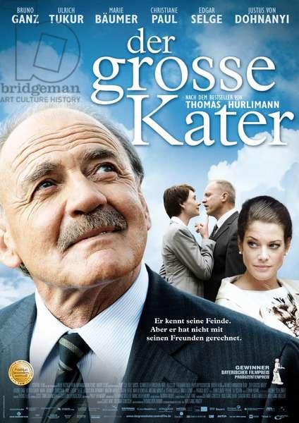 Der Grosse Kater: DER GROSSE KATER, German poster art, from left: Bruno Ganz, Christiane Paul, Ulrich Tukur, Marie Baumer, 2010. ©Central Film/Courtesy Everett Collection