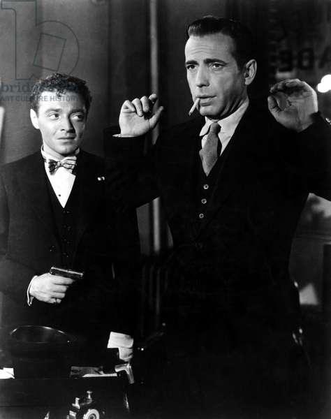 Maltese Falcon, Peter Lorre, Humphrey Bogart, 1941