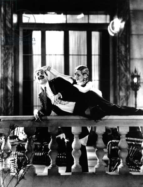 MONKEY BUSINESS, from left: Groucho Marx, Thelma Todd, (The Marx Brothers), 1931