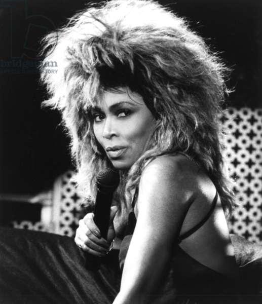 Tina Turner, portrait ca. mid 1980s