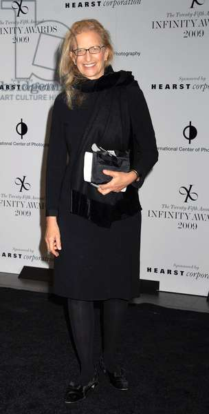 Annie Leibowitz: Annie Leibowitz at arrivals for International Center of Photography (ICP) 25th Annual Infinity Awards, Pier Sixty at Chelsea Piers, New York, NY May 12, 2009. Photo By: Yuki Tanaka/Everett Collection