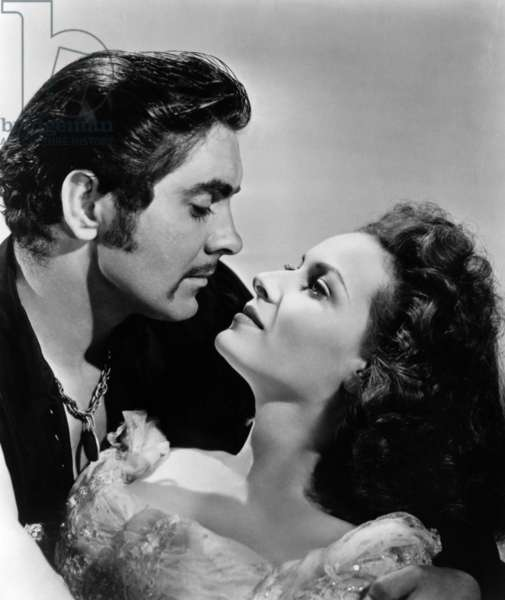 Le cygne noir: THE BLACK SWAN, Tyrone Power, Maureen O'Hara, 1942, TM and Copyright © 20th Century Fox Film Corp. All rights reserved. Courtesy: Everett Collection.