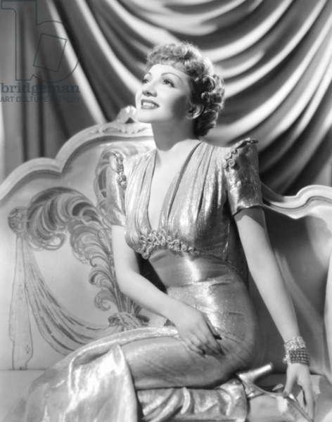 MIDNIGHT, Claudette Colbert, 1939: MIDNIGHT, Claudette Colbert, 1939