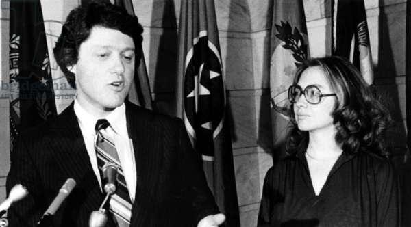 Bill Clinton, Hillary Clinton, during his first term as Governor of Arkansas, 1979-1981
