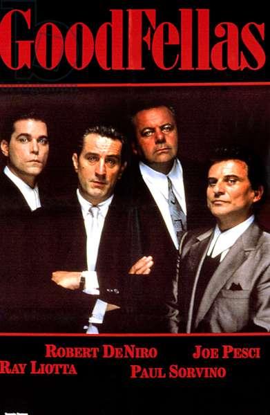 GOODFELLAS, Ray Liotta, Robert De Niro, Paul Sorvino,       Joe Pesci, 1990