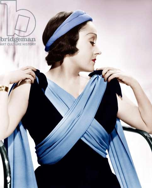 Gloria Swanson, ca. 1937