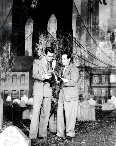 ARSENIC AND OLD LACE, Cary Grant, Director Frank Capra, 1944