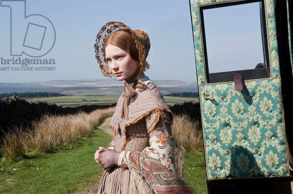 JANE EYRE, Mia Wasikowska, 2011. ph: Laurie Sparham/©Focus Features/Courtesy Everett Collection