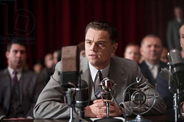 J. EDGAR, Leonardo DiCaprio, 2011. ph: Keith Bernstein/©Warner Bros. Pictures/Courtesy Everett Collection