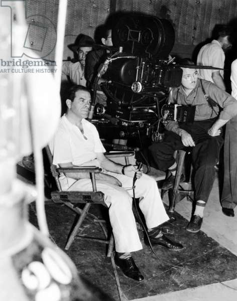 MEET JOHN DOE, director Frank Capra, on-set, 1941: MEET JOHN DOE, director Frank Capra, on-set, 1941