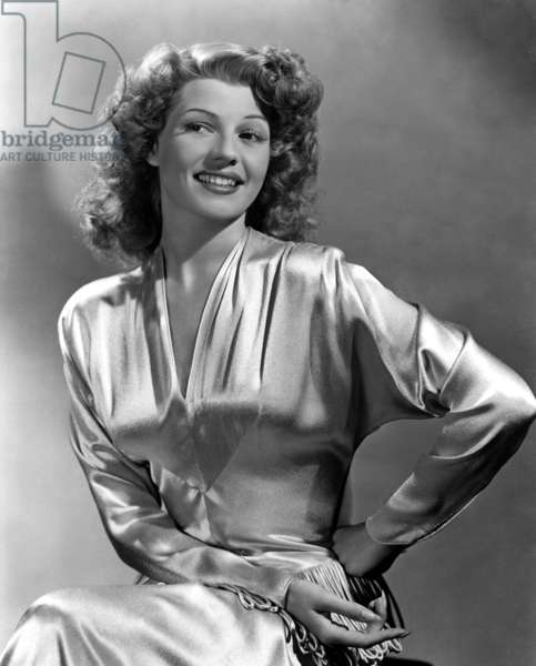 Rita Hayworth, portrait