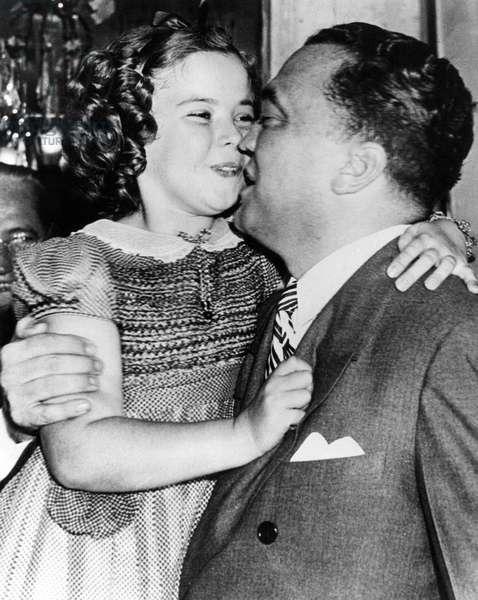 Shirley Temple et J. Edgar Hoover
