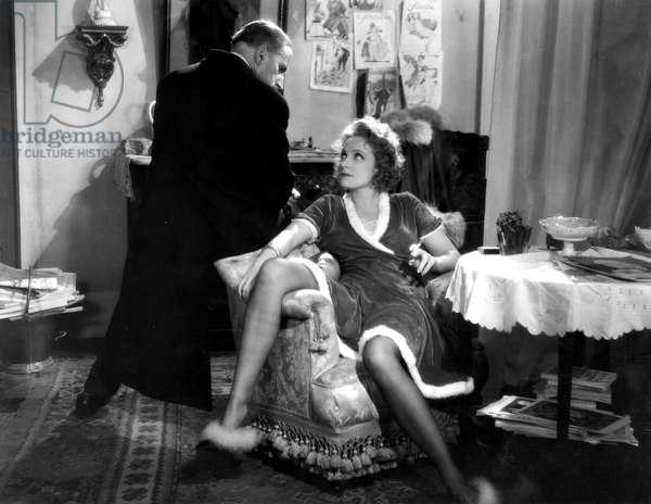 DISHONORED, Gustav von Seyffertitz, Marlene Dietrich, 1931