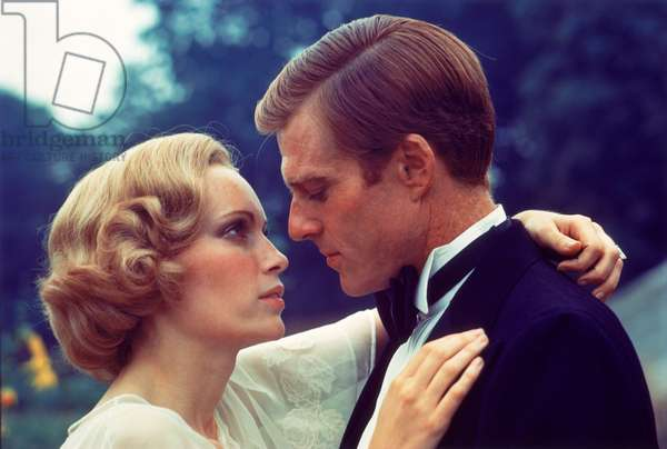 THE GREAT GATSBY, Mia Farrow, Robert Redford, 1974.