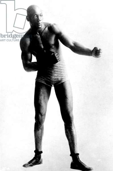 UNFORGIVABLE BLACKNESS: THE RISE AND FALL OF JACK JOHNSON, Jack Johnson in 1901, 2004, (c) Florentine Films/courtesy Everett Collection