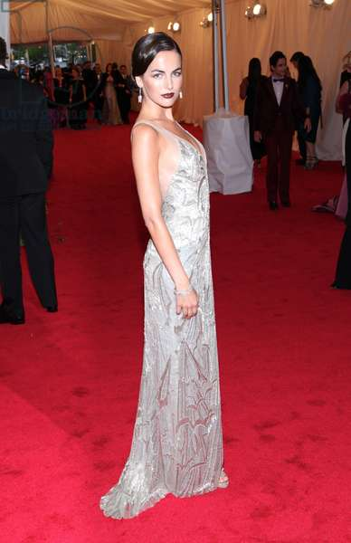 Camilla Belle (wearing Ralph Lauren) at arrivals for Metropolitan Museum of Art's 2012 Costume Institute Gala Benefit - Schiaparelli and Prada: Impossible Conversations - Part 8, Metropolitan Museum of Art, New York, NY May 7, 2012. Photo By: Andres Otero/Everett Collection
