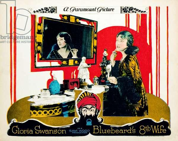 La Huitieme Femme de Barbe-Bleue: BLUEBEARD'S EIGHTH WIFE, Gloria Swanson, 1923.