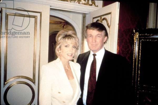 Marla Maples and Donald Trump, married from 1993-1999, from 'Intimate Portrait: Marla Maples Trump'