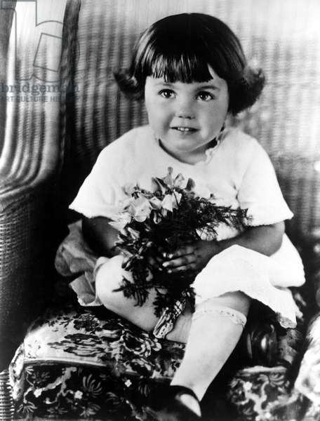 ESTHER WILLIAMS at age 3.