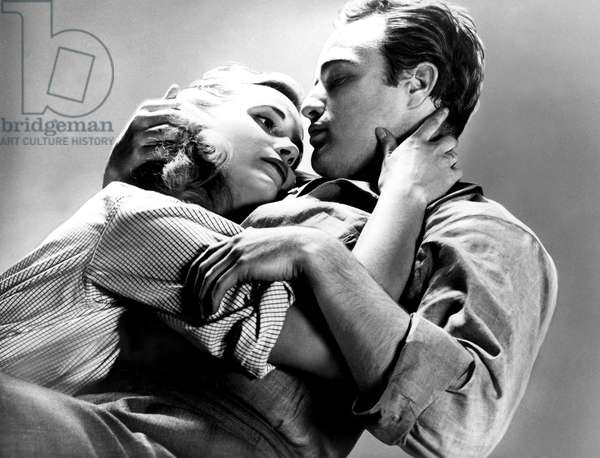 ON THE WATERFRONT, Eva Marie Saint, Marlon Brando, 1954