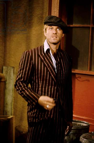 THE STING, Robert Redford, 1973