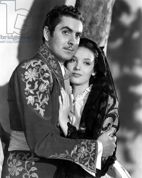 Mark of Zorro, Tyrone Power, Linda Darnell, 1940