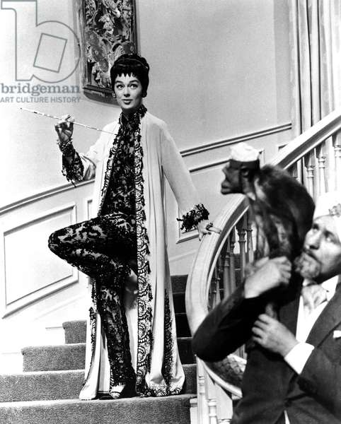 AUNTIE MAME, Rosalind Russell, 1958.