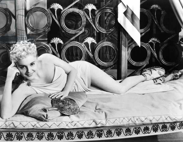 HELEN OF TROY, Rossana Podesta, 1956