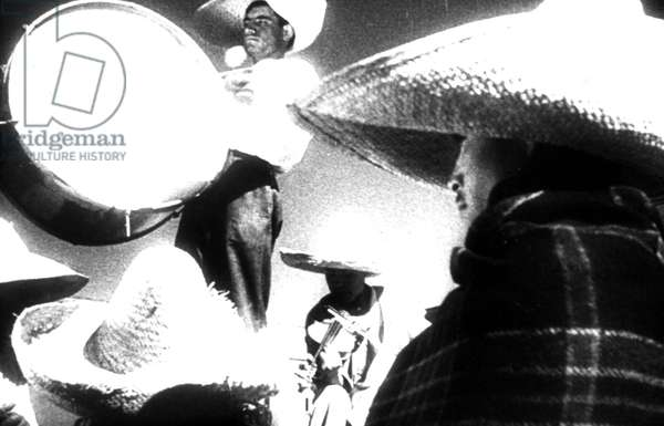 QUE VIVA MEXICO, uncompleted film by Sergei Eisenstein. Released re-edited as THUNDER OVER MEXICO, 1933. Courtesy: Glenn Loney/Everett Collection