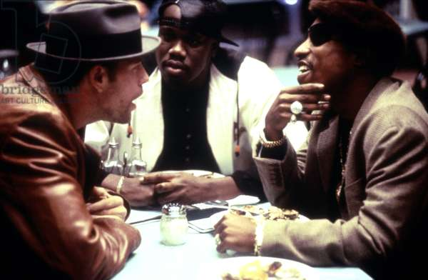 BULLET, Mickey Rourke, Tupac Shakur, 1996. ©Village Roadshow. Courtesy: Everett Collection