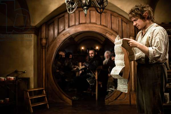Le Hobbit: Le Voyage Inattendu: THE HOBBIT: AN UNEXPECTED JOURNEY, Martin Freeman, 2012. ph: James Fisher/©Warner Bros. Pictures/Courtesy Everett Collection