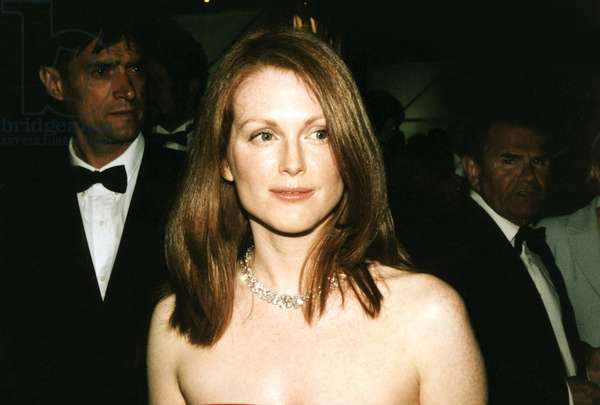 Julianne Moore at Cannes Film Festival, 1999, by Thierry Carpico