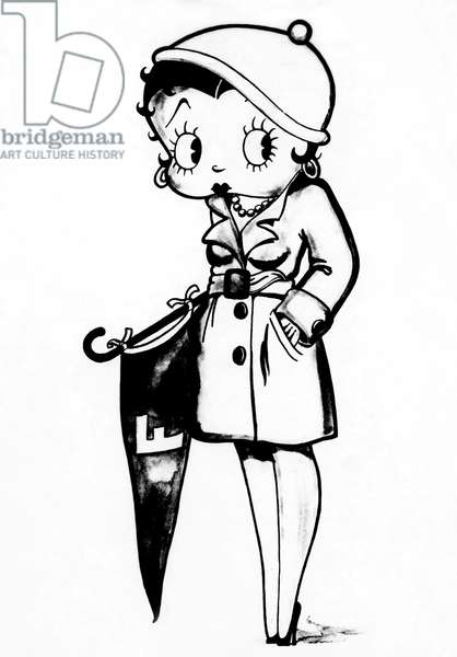 Betty Boop in the early 1930s