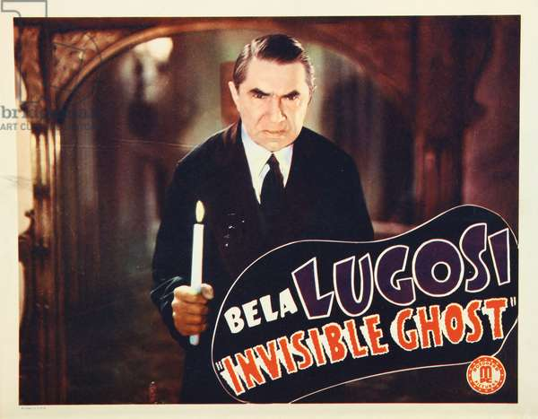 INVISIBLE GHOST, Bela Lugosi, 1941