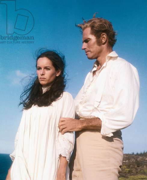 THE HAWAIIANS, Geraldine Chaplin, Charlton Heston, 1970
