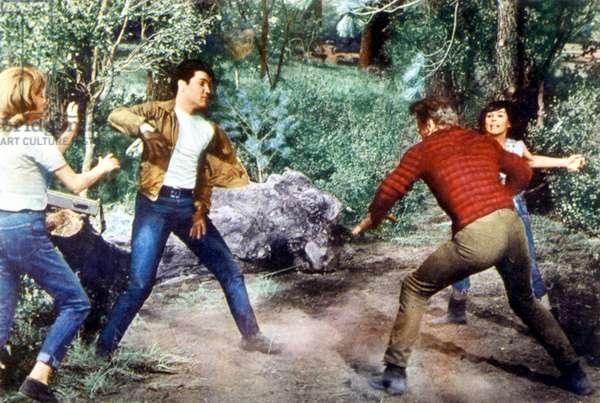 KISSIN' COUSINS, Elvis Presley, Yvonne Craig, 1964